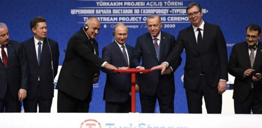 Puštena u rad dionica gasovoda Turski tok