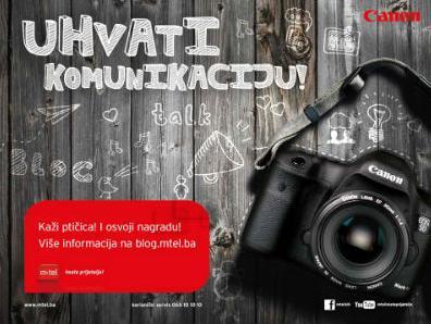 m:tel i Canon organizuju foto-konkurs 'Uhvati komunikaciju'