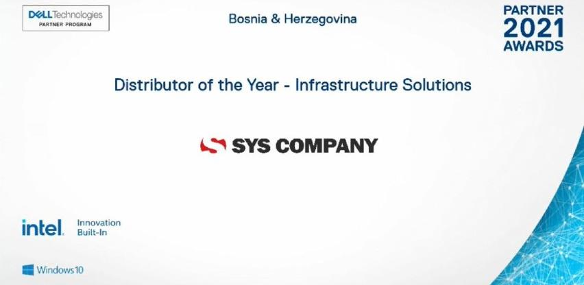 Za Sys Company dvije nagrade na Dell Adriatic Partner Awards 2021 eventu