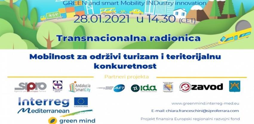 Transnacionalna radionica: Mobilnost za održivi turizam i teritorijalnu konkurentnost