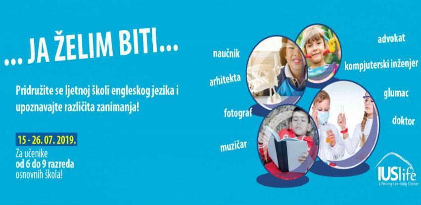 IUS Life centar organizuje dvosedmičnu ljetnu školu engleskog jezika