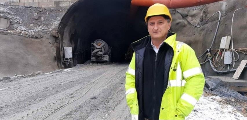 """Radovi na tunelu """"Hranjen"""" se odvijaju po planu, uz mjere zaštite"""