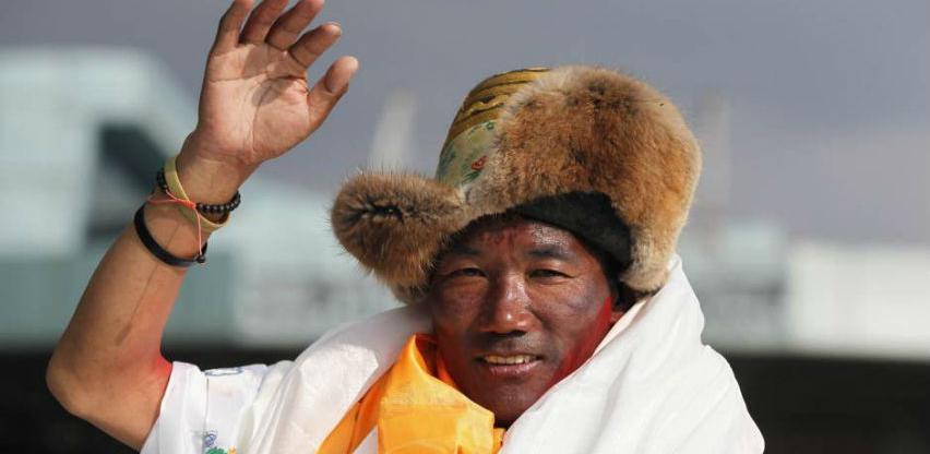 Popeo se na Mont Everest 23 puta i oborio sopstveni svjetski rekord