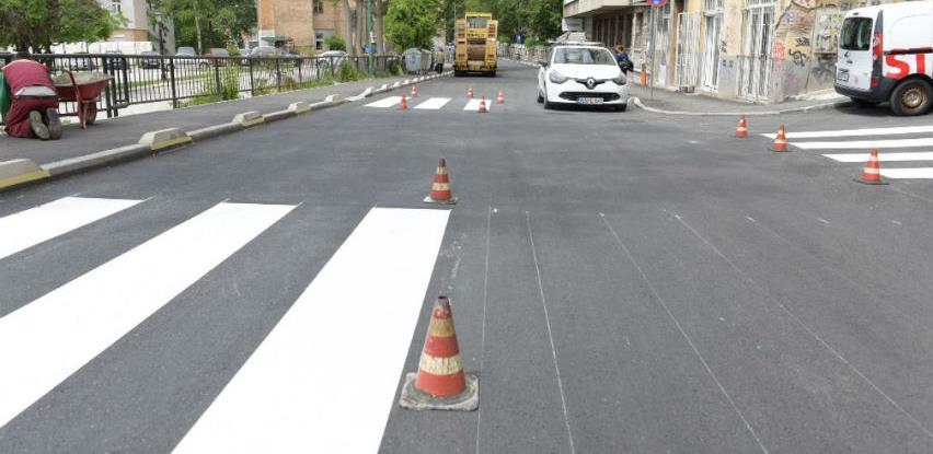 Završeni radovi na sanaciji prvog dijela Kranjčevićeve ulice