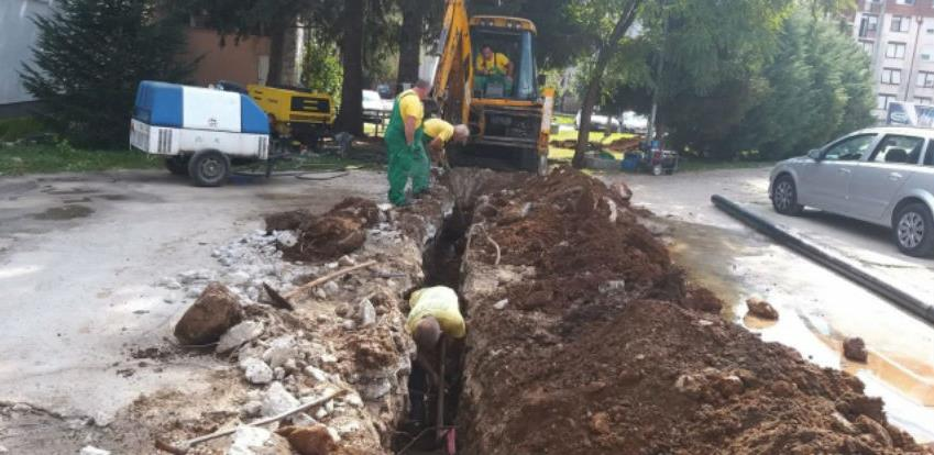 Završava se rekonstrukcija vodovodne mreže u Jablanici
