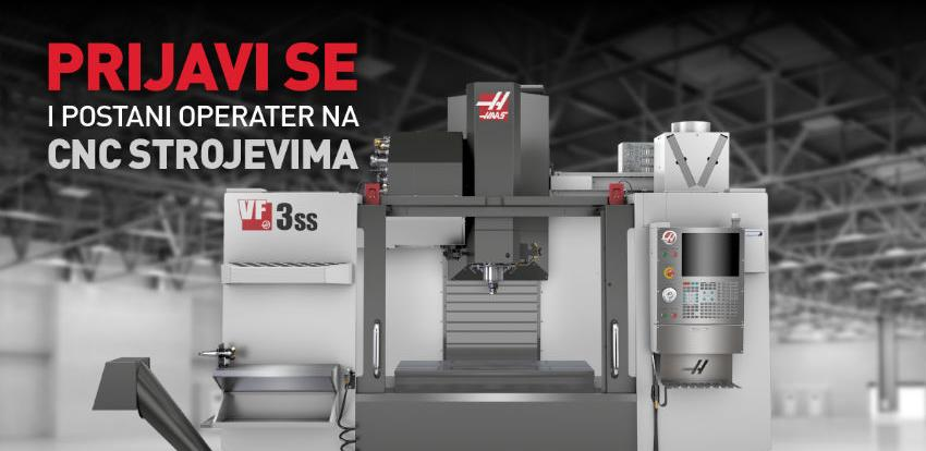 Želite lakše do posla? Otvorene prijave za novi ciklus obuke za CNC operatere!