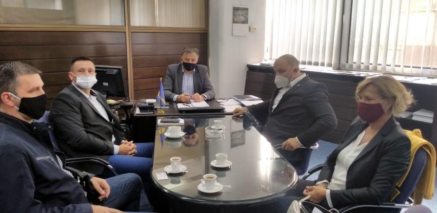 Zukić s predstavnicima Udruženja za tekstilnu i kožarsko-prerađivačku industriju