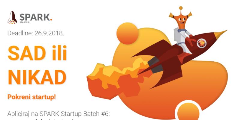 SPARK Startup Batch #6: otvorene prijave