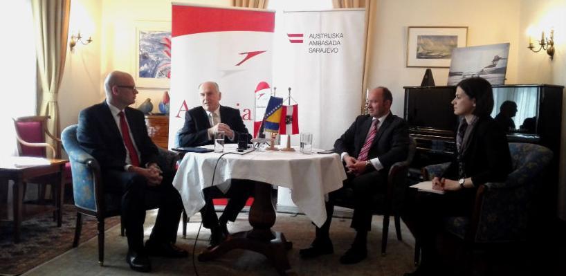 Austrian Airlines proslavila 20 godina od uspostavljanja prvog leta u BiH