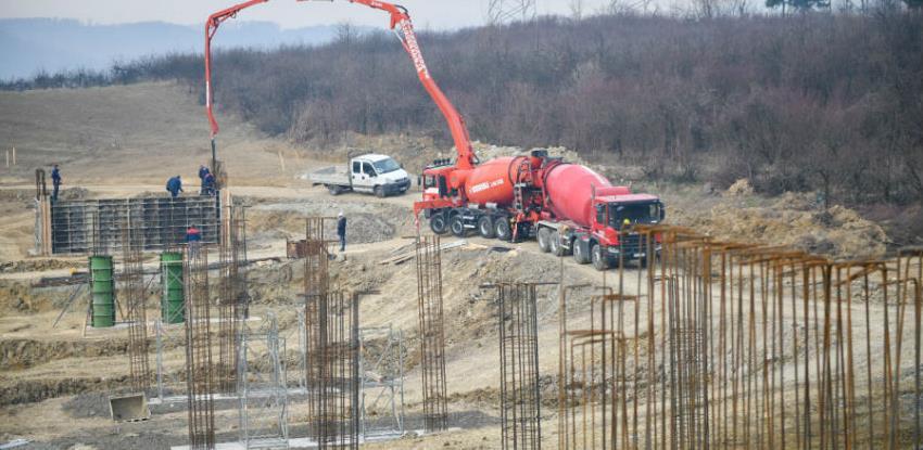 Počelo betoniranje prvih nosača budućeg vijadukta u Banjoj Luci