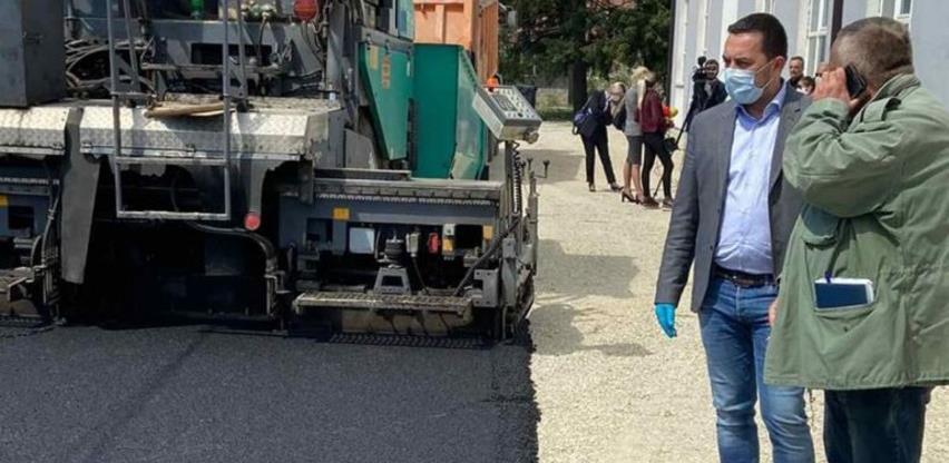 U industrijskoj zoni Usora u toku realizacija infrastrukturnih projekata