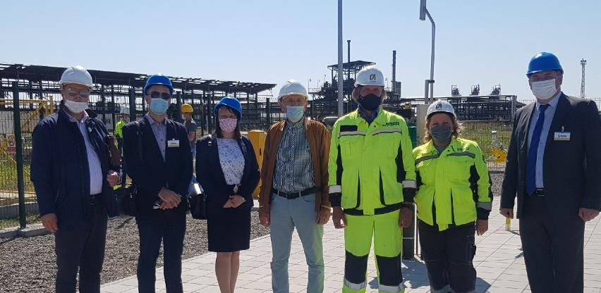 Završen gasovod u Rafineriji nafte Brod