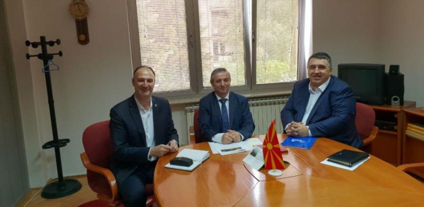 Makedonski zvaničnici i privrednici na 15. Međunarodnom sajmu privrede Tešanj