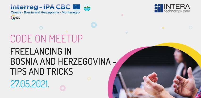 Freelancing u BiH iz perspektive freelancera tema novog meetup-a u Code Hub-u Mostar