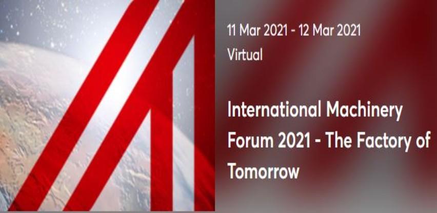 Međunarodni forum mašinogradnje 2021. - digitalna konferencija 11. i 12. mart