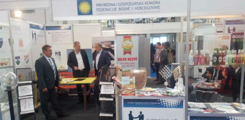 Grupacija namjenske industrije PKFBiH na sajmu u Mostaru