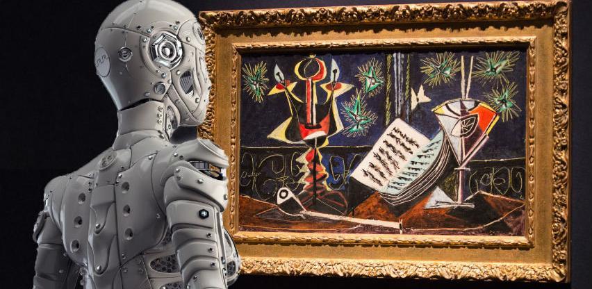 Robot-umjetnik koji crta ljude