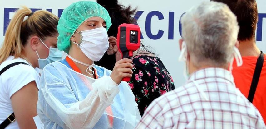 Bosnom i Hercegovinom hara britanski i češki soj koronavirusa