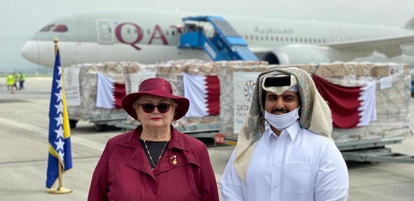 Qatar Airways dopremio 10 tona katarske pomoći građanima Bosne i Hercegovine