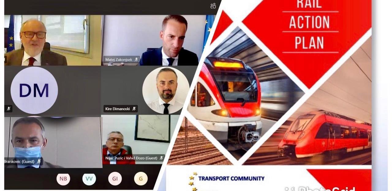 Održana prva online radionici o željeznicama