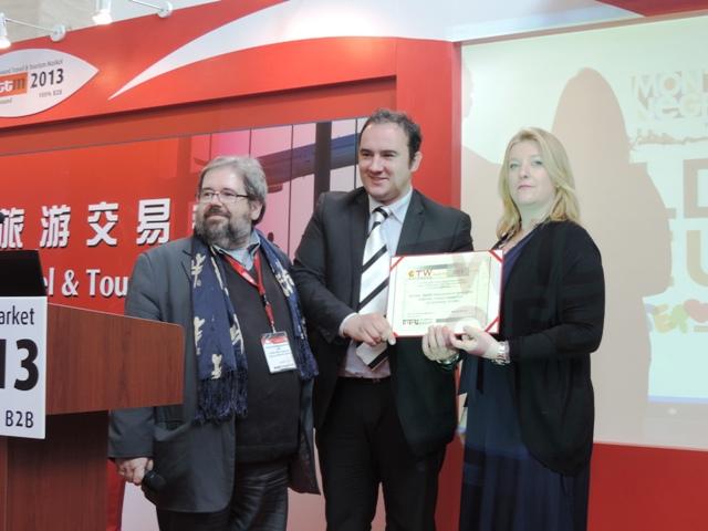 Nagrada za najbolji marketing NTOCG na sajmu COTTM 2013