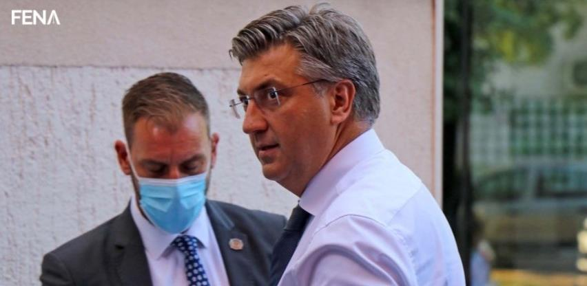 Plenković: Hrvatska će podupirati BiH na putu prema EU