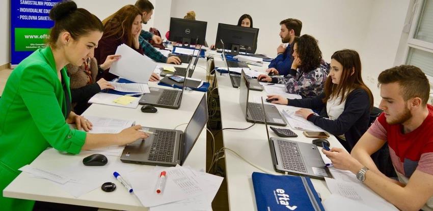 EFTA consulting organizuje kurs: Želite se baviti računovodstvom/knjigovodstvom?