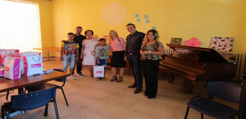 Telemach u posjeti Domu za djecu bez roditeljskog staranja u Tuzli