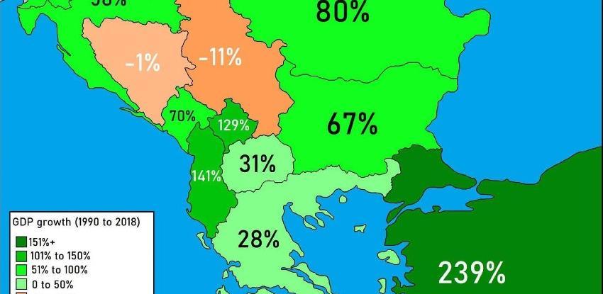 Svjetska banka: BDP BiH pao za 1%