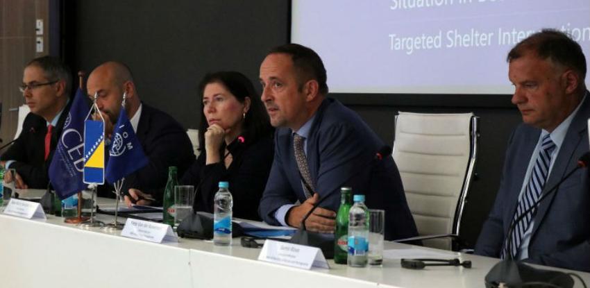 Million eura za opremanje centra za migrante u Hadžićima