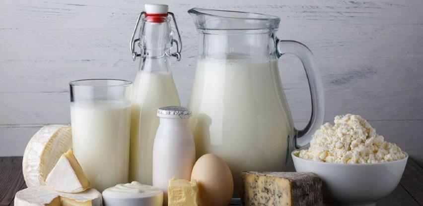 U prvom polugodištu izvoz mlijeka i mliječnih proizvoda manji za 10,8 odsto