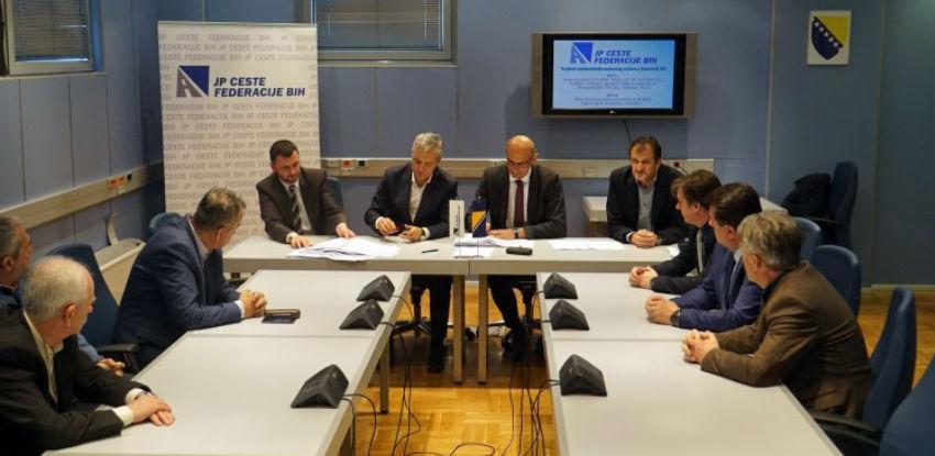 Potpisani novi ugovori u okviru Programa modernizacije cesta u Federaciji BiH