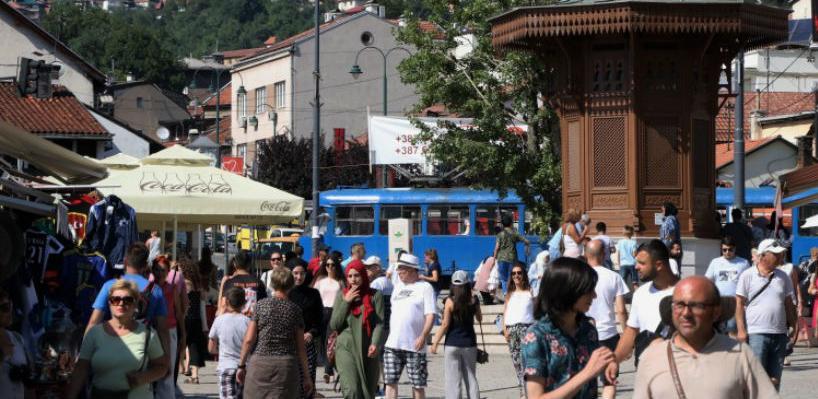 U julu više od 160 hiljada turista, za 24,5 posto više nego u julu 2016.