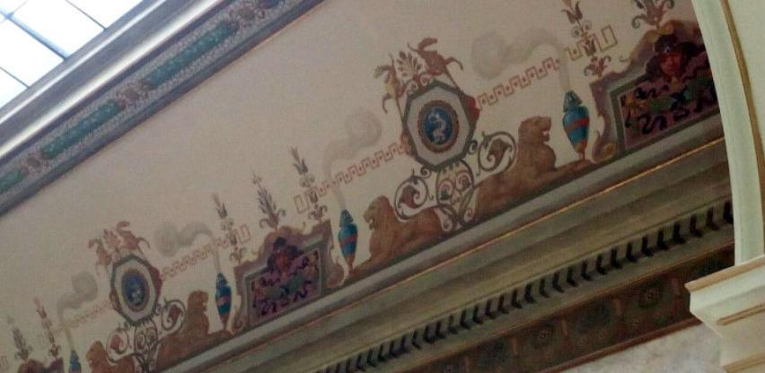 Završeni radovi restauracije stropnog i zidnog slikarstva u Zemaljskom muzeju