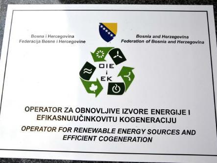 Do 2020. 40 posto energije u FBiH iz obnovljivih izvora
