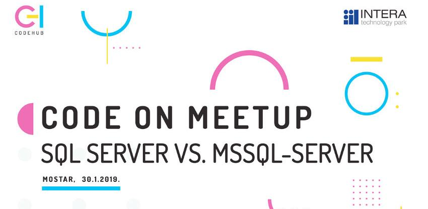 SQL Server vs. mssql-server u Code Hub-u Mostar