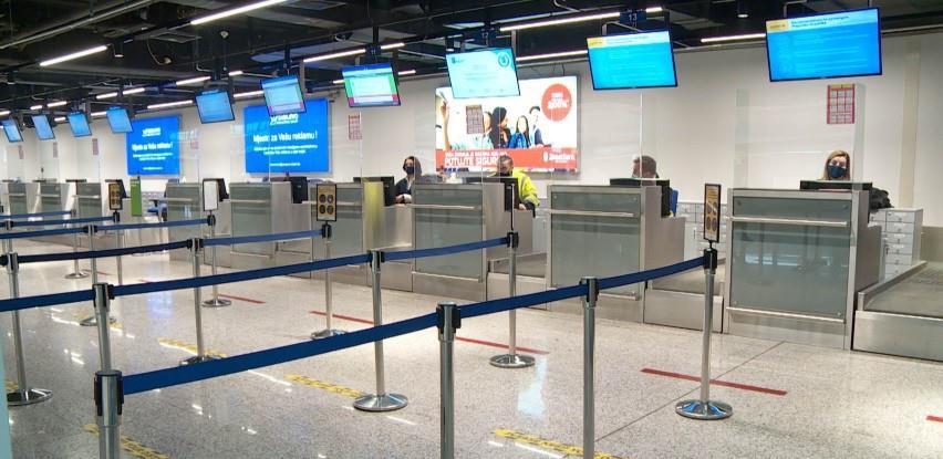 Sablasno prazan aerodrom u Sarajevu, zbog pandemije veliki gubici u poslovanju