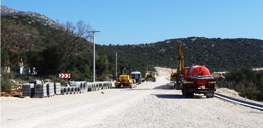 Veći dio ceste do Neuma u funkciji do početka ljeta