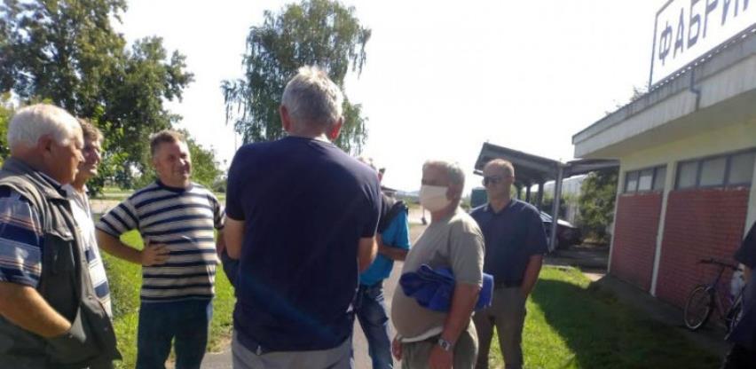 """Radnici Fabrike cijevi """"Unis"""" najavili proteste pred Vladom RS-a"""