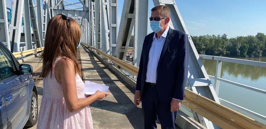 Završetak gradnje mosta i autoputa kod Graničnog prijelaza Rača 2022. godine