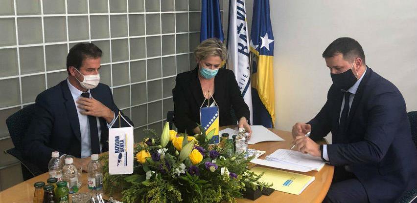 Potpisan ugovor o saradnji NLB Banke i Razvojne banke FBiH