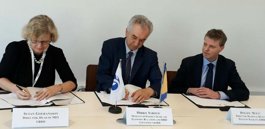 Potpisan ugovor o podršci vodosnabdijevanju Sarajeva vrijedan 25 mil. eura