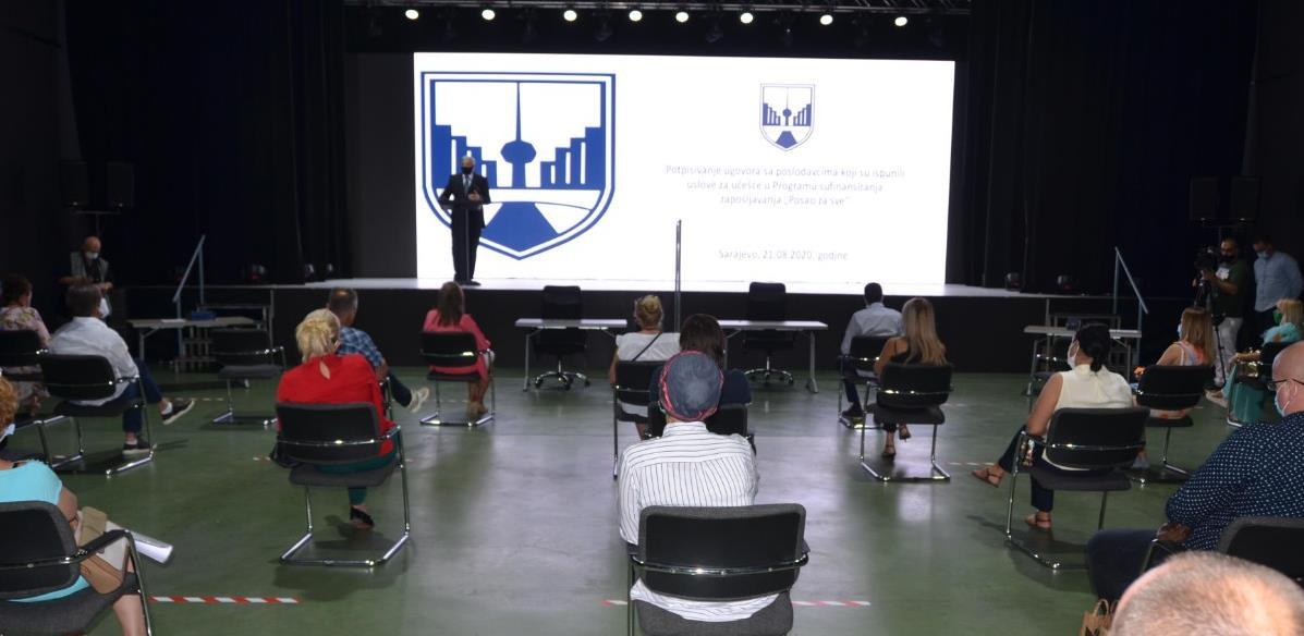 """""""Posao za sve"""": Općina Novo Sarajevo potpisala ugovore sa 34 poslodavca"""