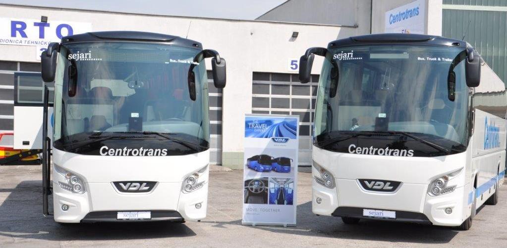 Sejari ekskluzivni zastupnik za autobuse holandske kompanije VDL Bus&Coach