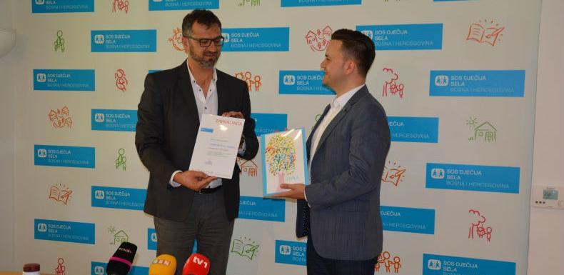 U SOS Dječijim selima BiH obilježen Svjetski dan mlijeka