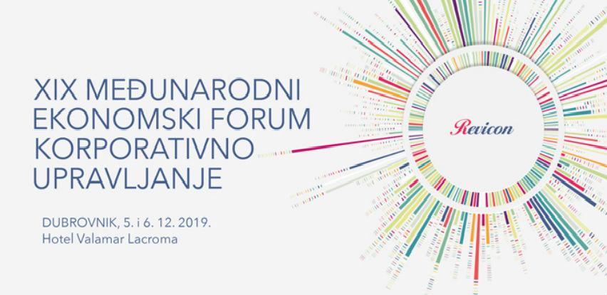 XIX Međunarodni ekonomski forum 'Korporativno upravljanje'