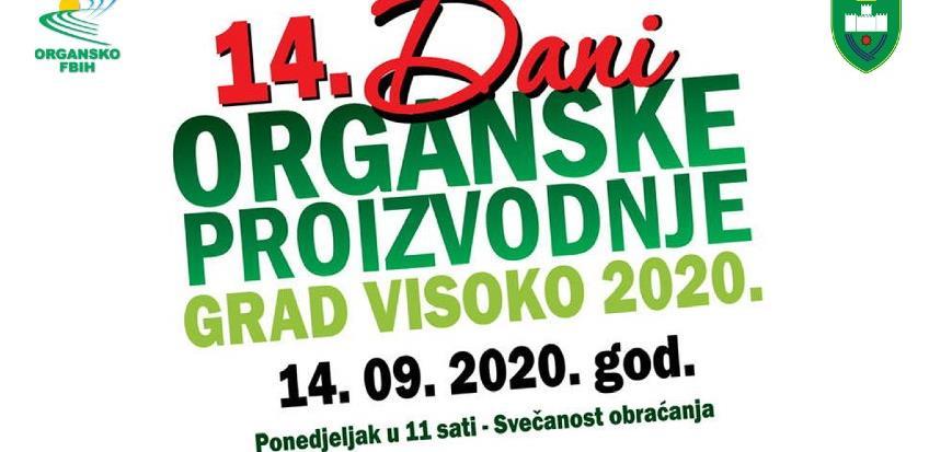 Dani organske proizvodnje 14. septembra u Visokom