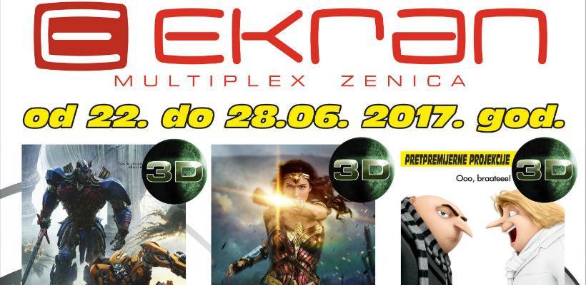 U Multiplexu ekran Zenica novi ciklus filmova