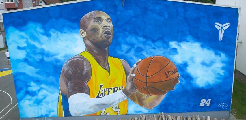 Mural Kobeja Bryanta najveći u Evropi proslavio Gradišku