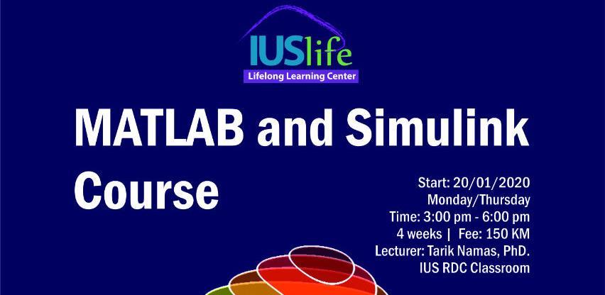 IUS Life centar: MATLAB and Simulink kurs